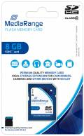 Mediarange SDHC Karte 8GB Speicherkarte Class 10