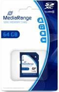 Mediarange SDXC Karte 64GB Speicherkarte Class 10