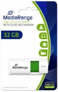Mediarange USB Stick 32GB Speicherstick Color Edition grün