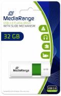 Mediarange USB Stick 32GB Speicherstick Color Edition grün