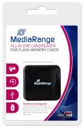 Mediarange Card Reader All-in-one Micro Card SD / SDHC / SDXC / MS / CF schwarz