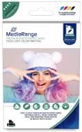 50 Mediarange Blatt Fotopapier DIN A6 high glossy glänzend einseitig 220 g/m²