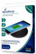 Mediarange Wireless Charger Ladegerät charging pad Fast Charge schwarz