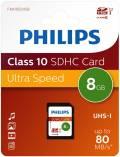 Philips SDHC Karte 8GB Speicherkarte UHS-I U1 Class 10
