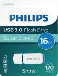 Philips USB Stick 16GB Speicherstick Snow weiß USB 3.0