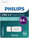 Philips USB Stick 64GB Speicherstick Snow weiß USB 3.0
