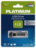 Platinum USB Stick 4GB Speicherstick TWS schwarz