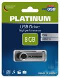 Platinum USB Stick 8GB Speicherstick TWS schwarz