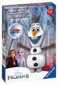 54 Teile Ravensburger 3D Puzzle Ball Disney Frozen 2 Olaf 11157
