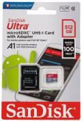 Sandisk Micro SDXC Karte 512GB Speicherkarte Ultra Android UHS-I U1 100 MB/s A1 Class 10