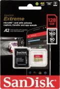 Sandisk Micro SDXC Karte 128GB Speicherkarte Extreme UHS-I U3 4K 160 MB/s V30 A2 Class 10