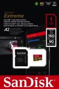 Sandisk Micro SDXC Karte 1TB Speicherkarte Extreme UHS-I U3 4K 160 MB/s V30 A2 Class 10
