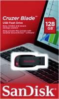 Sandisk USB Stick 128GB Speicherstick Cruzer Blade schwarz