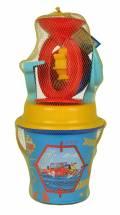 Simba Outdoor Spielzeug Sand & Strand Eimergarnitur mit Mühle Fireman Sam 109256115