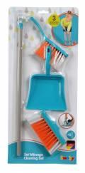 Smoby Spielwelten Haushalt Reinigungsset Besen, Handfeger, Kehrblech 7600330307