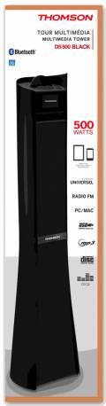 Thomson Bluetooth Lautsprecher System 2.1 Sound Tower DS500 schwarz TH347326