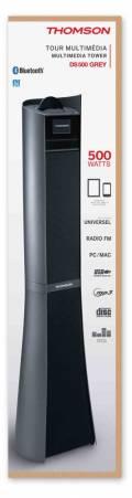 Thomson Bluetooth Lautsprecher System 2.1 Sound Tower DS500 grau TH347463