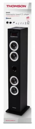 Thomson Bluetooth Lautsprecher System 2.0 Sound Tower DS120CD schwarz TH355833