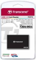 Transcend Card Reader RDF8 Micro Card SD / SDHC / SDXC UHS-I schwarz USB 3.0