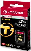 Transcend SDHC Karte 32GB Speicherkarte Ultimate X UHS-II U3 4K Class 10
