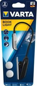 Varta Leselampe LED Book Light inkl. 2x CR2032 Batterien 16618