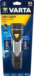 Varta Taschenlampe LED Day Light Multi LED F30 inkl. 2x D Batterien 17612
