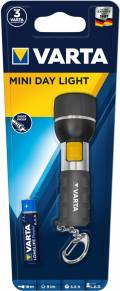 Varta Taschenlampe LED Mini Day Light inkl. AAA Batterie 16601