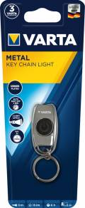 Varta Schlüssellampe LED Metal Key Chain Light inkl. 2x CR2016 Batterien 16603