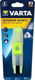 Varta Reflektorband LED Band Outdoor Sports inkl. 2x CR2032 Batterien 16620
