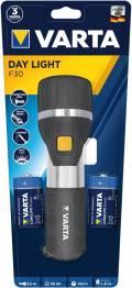 Varta Taschenlampe LED Day Light F30 inkl. 2x D Batterien 17611