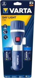 Varta Taschenlampe LED Day Light F35 inkl. 2x D Batterien 17626