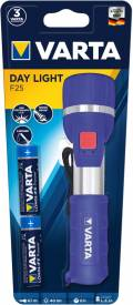 Varta Taschenlampe LED Day Light F25 inkl. 2x AA Batterien 17651