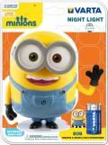 Varta Nachtlicht LED Minions Night Light inkl. 3x AA Batterien 15615