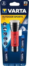 Varta Taschenlampe LED Outdoor Sports F10 inkl. 3x AAA Batterien 17627