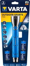 Varta Taschenlampe LED Outdoor Sports F30 inkl. 3x C Batterien 18629