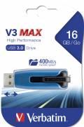 Verbatim USB Stick 16GB Speicherstick Store 'n' Go V3 Max blau USB 3.0