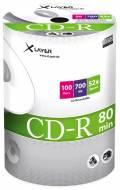 100 Xlayer Rohlinge CD-R 80Min 700MB 52x Shrink