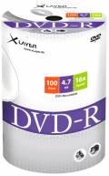 100 Xlayer Rohlinge DVD-R 4,7GB 16x Shrink