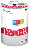 100 Xlayer Rohlinge DVD+R 4,7GB 16x Shrink