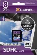 Xlyne SDHC Karte 8GB Speicherkarte UHS-I Class 10