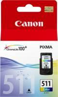 Canon Druckerpatrone Tinte CL-511 tri-color, dreifarbig