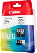 2 Canon Druckerpatronen Tinte PG-540 BK / CL-541 tri-color Multipack