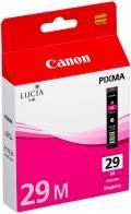 Canon Druckerpatrone Tinte PGI-29 M magenta, rot