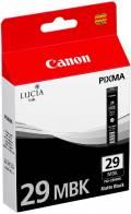 Canon Druckerpatrone Tinte PGI-29 MBK matte black, matt schwarz