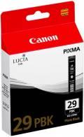 Canon Druckerpatrone Tinte PGI-29 PBK photo black, photo schwarz