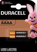 2 Duracell Ultra AAAA / MN2500 Alkaline Batterien im 2er Blister
