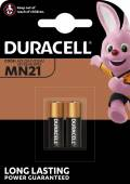 2 Duracell Security LR23 / MN21 Alkaline Batterien im 2er Blister
