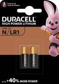 2 Duracell LR1 / N / MN9100 Alkaline Knopfzelle Batterien im 2er Blister