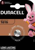 1 Duracell CR 1616 / DL 1616 Lithium Knopfzelle Batterie Blister