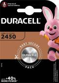 1 Duracell CR 2450 / DL 2450 Lithium Knopfzelle Batterie Blister